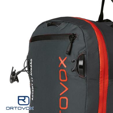 Key Holder - Ortovox Ascent 22 Avabag - Black Anthracite