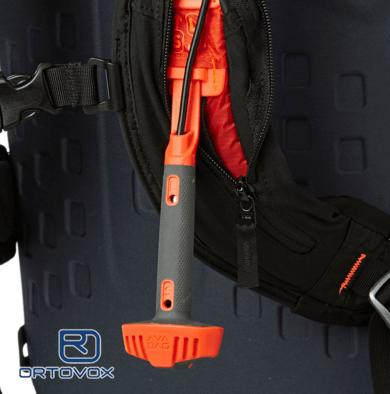 Activation Handle - Ortovox Ascent 22 Avabag - Black Anthracite