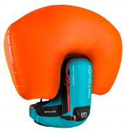 Ortovox Freerider 20 S Avabag - Inflated Airbag - Aqua