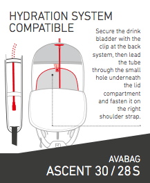 Hydration System - Ortovox Ascent 28 S Avabag