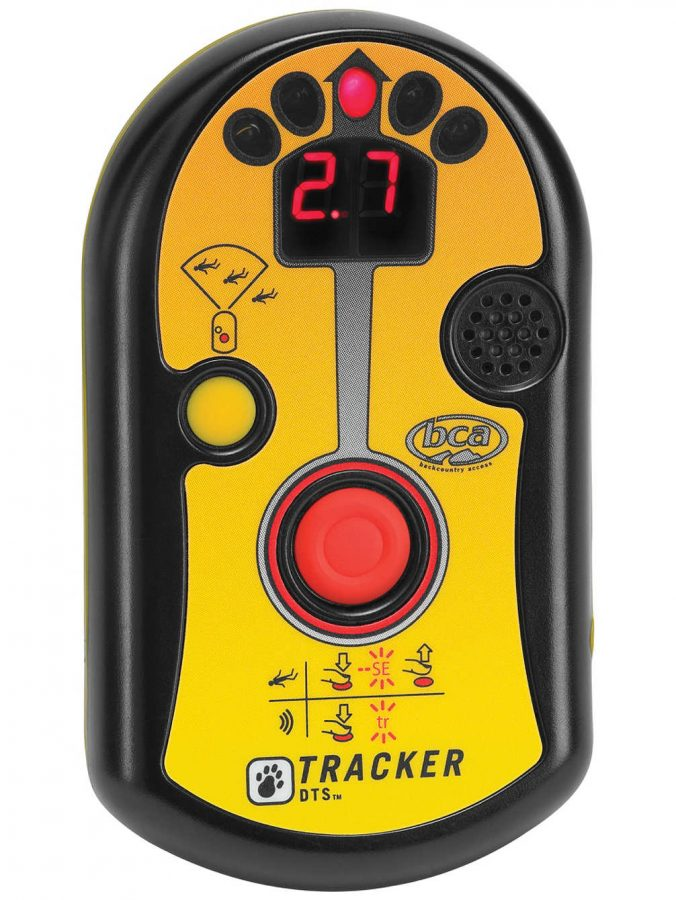Front View with Instructions and Search Button - BCA DTS Tracker