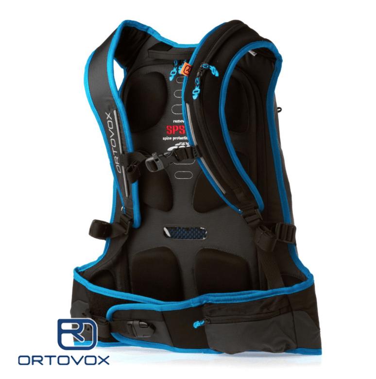Back View - Ortovox Freerider 18 - Black Raven