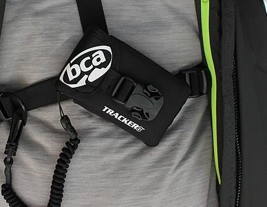 Harness and Pouch Included to Wear Over Clothing - BCA DTS Tracker 3