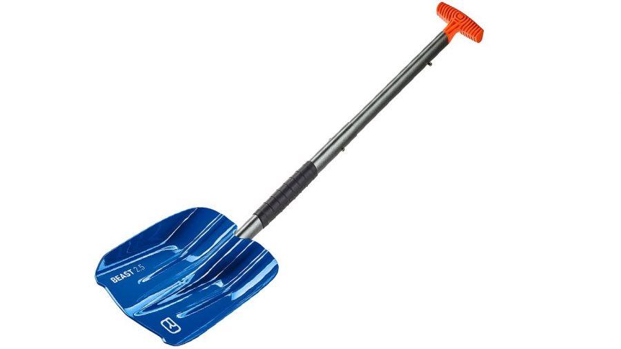 Telescopic Handle Full Extension - Blue - Ortovox Beast Shovel