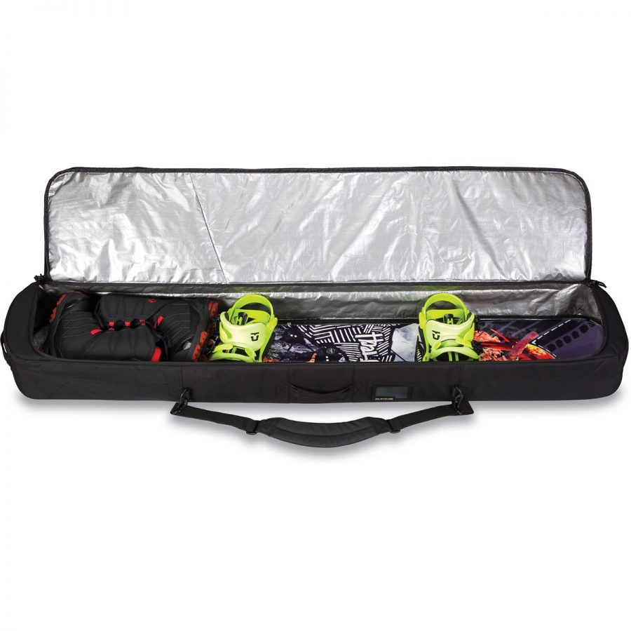 Dakine Tour Snowboard Bag - Packed board and boots - Black