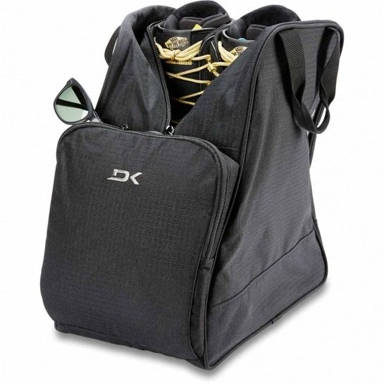 Dakine Boot bag 30L - Packed boots and sunglasses - Black