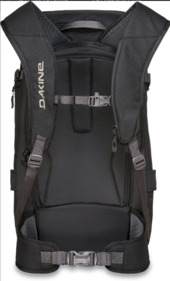 Dakine Heli Pro 24L - Back View - Black