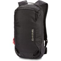 Front View - Dakine Poacher 14L - Black