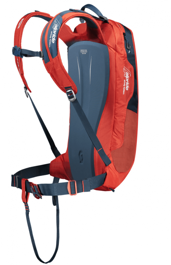 Scott Backcountry Pro AP 20 Kit - Back View - Burnt Orange/Eclipse Blue