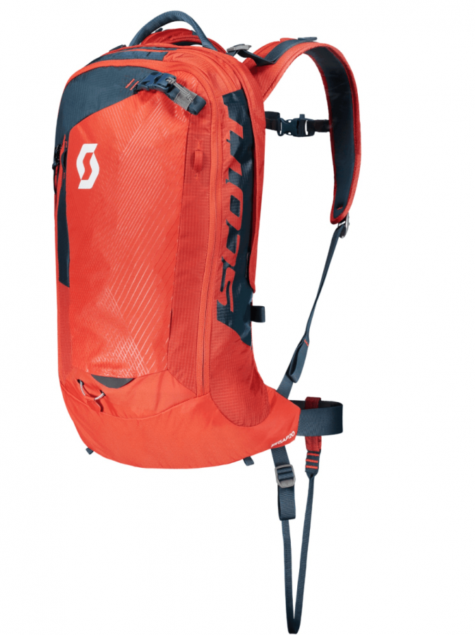 Scott Backcountry Pro AP 20 Kit - Front View - Burnt Orange/Eclipse