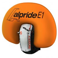 Alpride E1 System - Inflated Airbag - Scott Backcountry Patrol E1 30 Kit