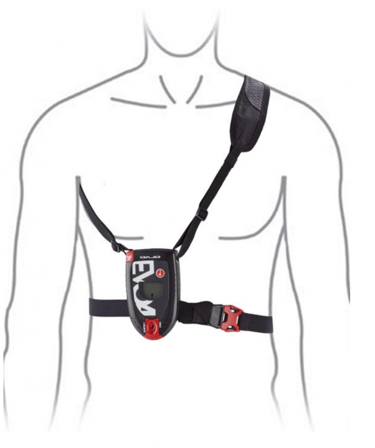 Arva EVO4 Transceiver - Correct fit of the Carry Harness