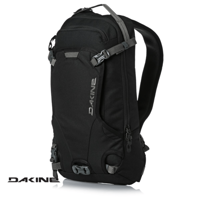 Dakine Heli Pack 12L - Front View - Black