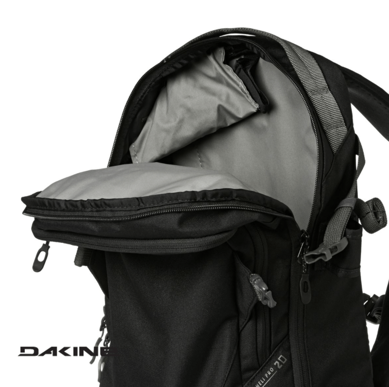 Dakine Heli Pro 20L - Main compartment - Black