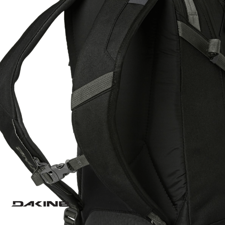 Dakine Heli Pro 20L - Sternum straps including safety whistle - Black