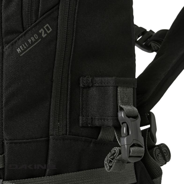 Dakine Heli Pro 20L - Compression Straps - Black