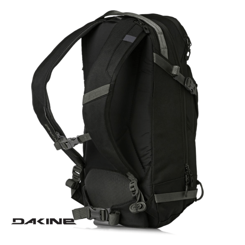 Dakine Heli Pro 20L - Back View - Black