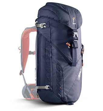 ABS P.Ride 45+5L Zip-on Backpack Only - Deep Blue