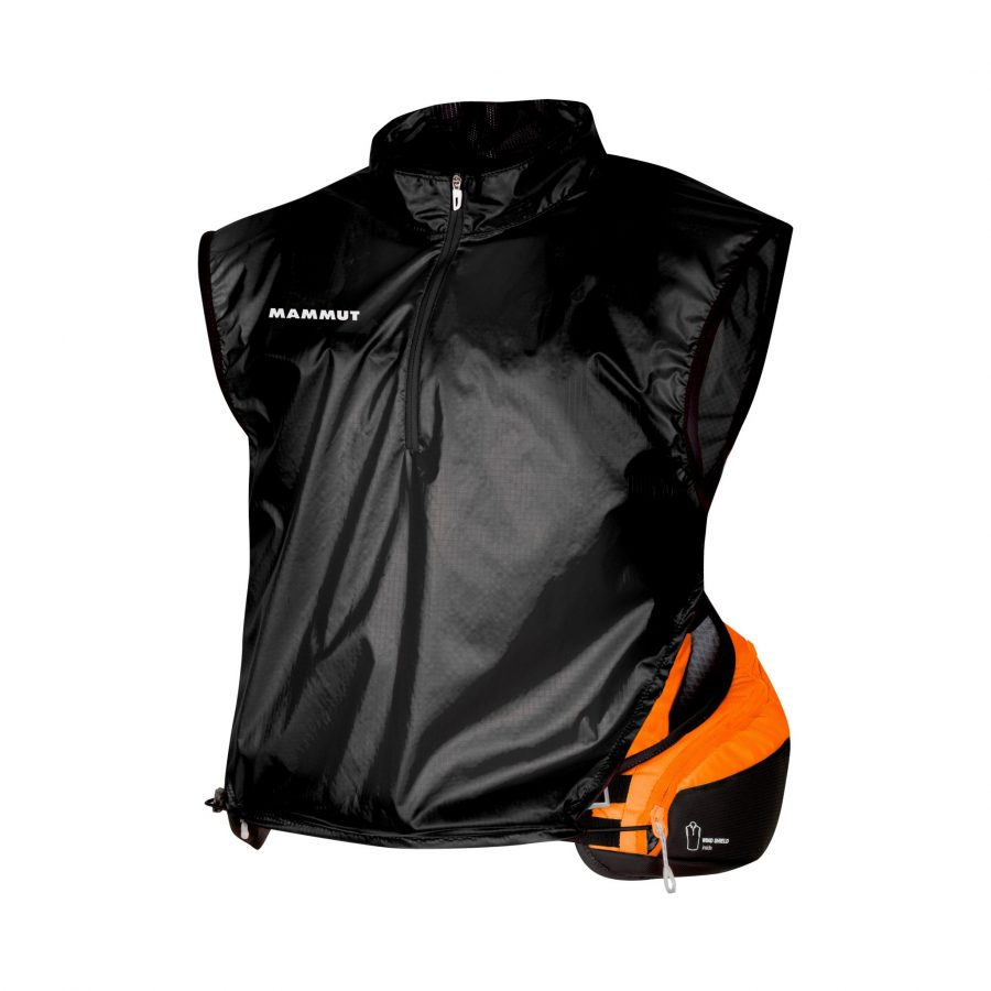 Mammut Spindrift 14 - Integrated wind shield jacket