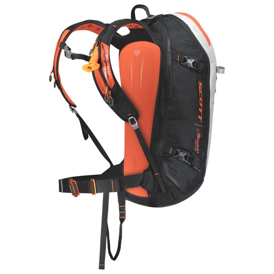Scott Backcountry Patrol E1 30 Kit - Back View - Activation Handle