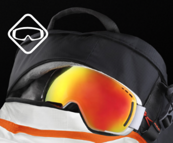 Scott Backcountry Patrol AP 30 Kit - Fleece Lined Goggle Pocket