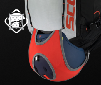 Scott Backcountry Patrol E1 30 Kit - Bottom Helmet Fixation