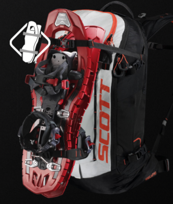 Scott Backcountry Patrol AP 30 Kit - Snowshoe Fixation