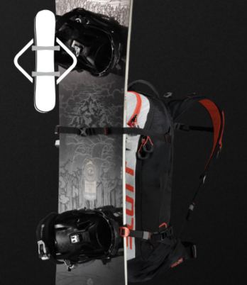 Scott Backcountry Patrol E1 30 Kit - Front Snowboard Fixation