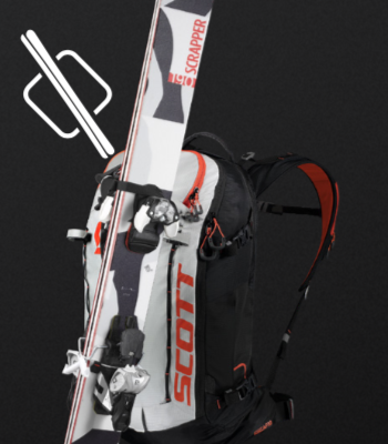 Scott Backcountry Patrol AP 30 Kit - D-Skifix Ski Fixation