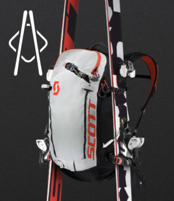 Scott Backcountry Patrol E1 30 Kit - A-Frame Ski Carry