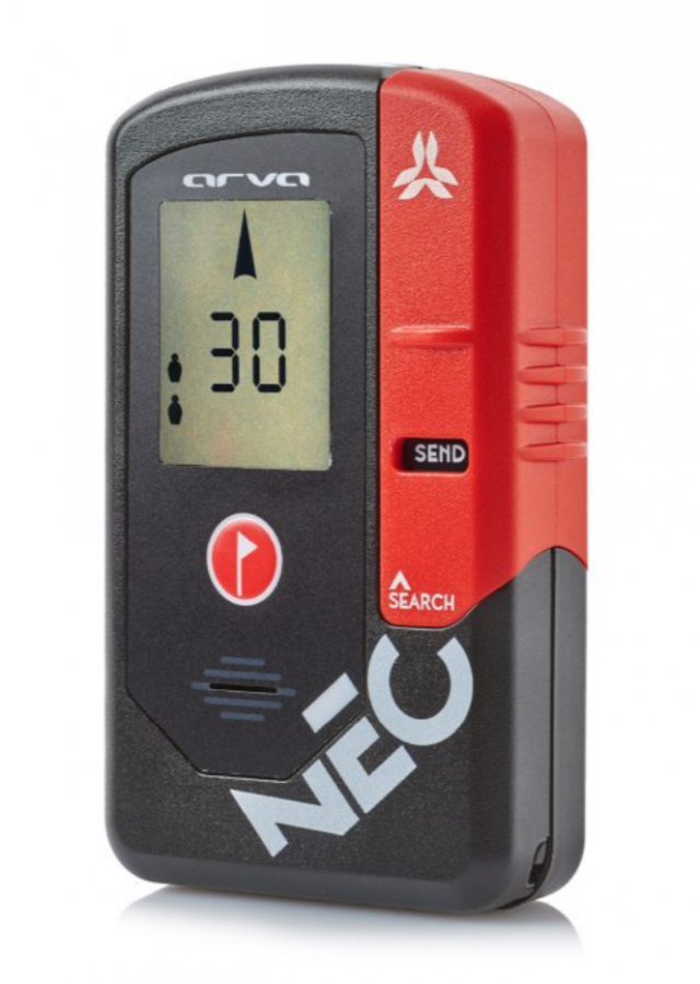 Arva NEO+ Transceiver - Front View - Send Mode