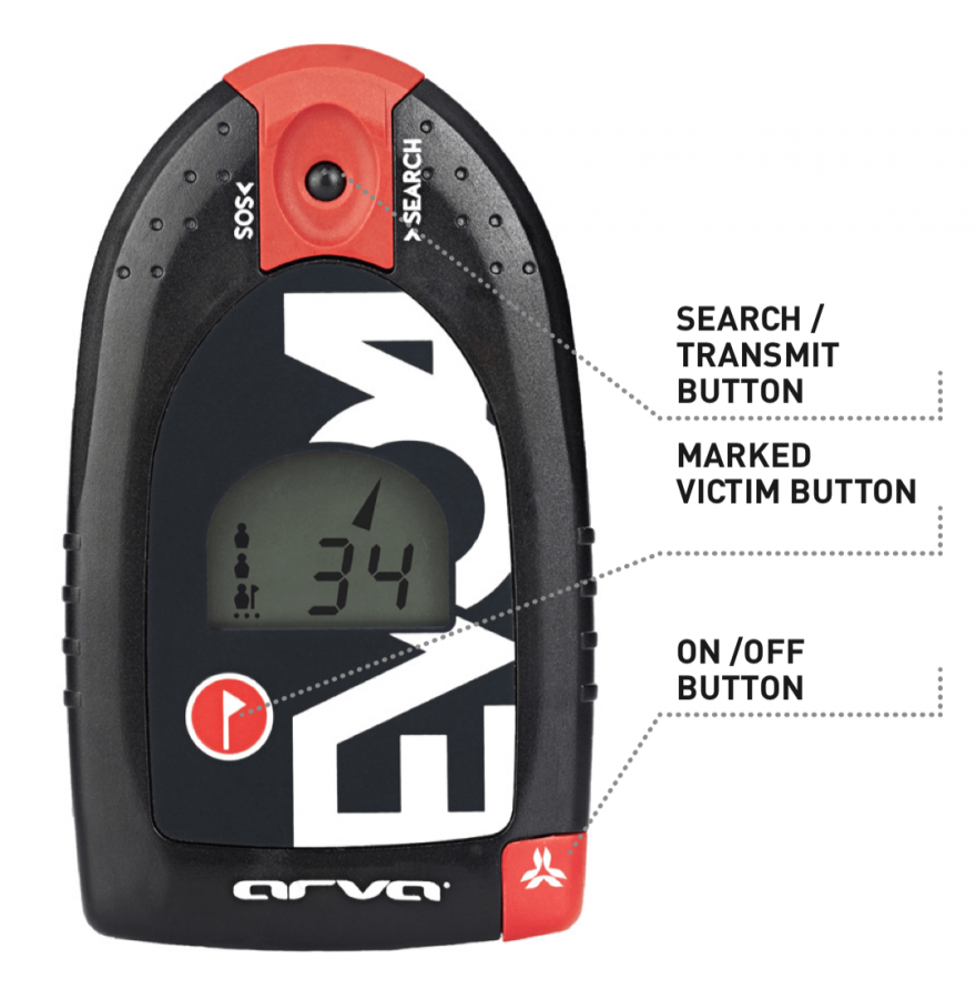 Arva EVO4 Transceiver - Controls - Flagging Function
