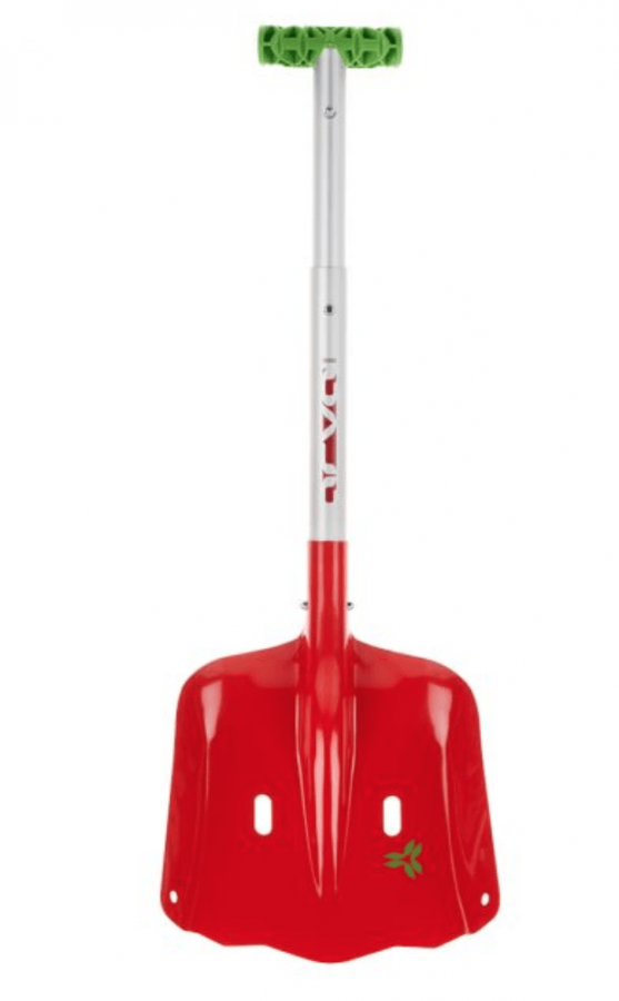 Arva Access TS Shovel - Front View - Telescopic Shaft - T Grip