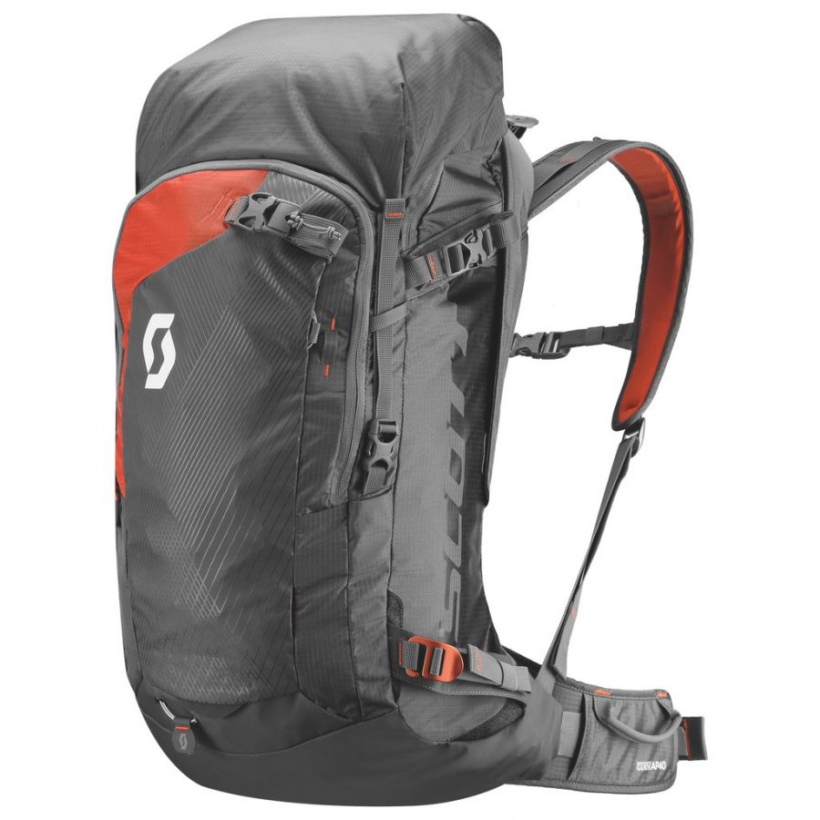Scott Backcountry Guide AP 40 Kit - Front View - Non Inflated Airbag