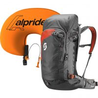 Alpride 2.0 Airbag System - Infated Airbag - Scott Backcountry Guide AP 40 Kit