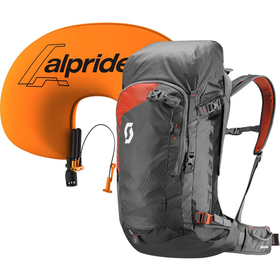 Scott Backcountry Guide AP 40 Kit - Alpride 2.0 Airbag System - Infated Airbag