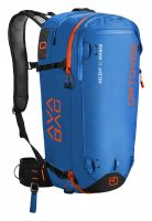 Front View - Strong Blue - Ortovox Ascent 30 Avabag Backpack