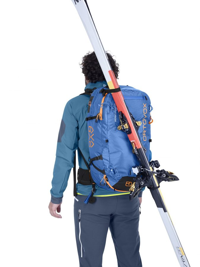 Ortovox Ascent 38 S Avabag Backpack - Front View - D-Skifix