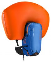 Front View - Inflated Airbag - Ortovox Ascent 38 S Avabag