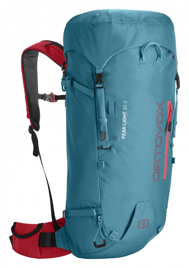 Ortovox Peak Light 30 S - Front View - Aqua