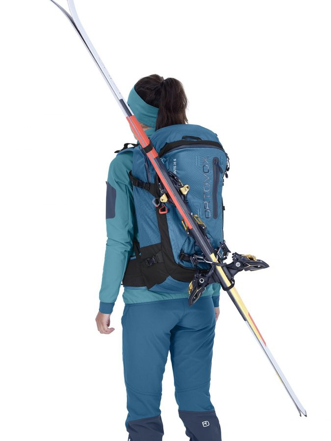 Ortovox Haute Route 40 - Diagonal Ski Carry