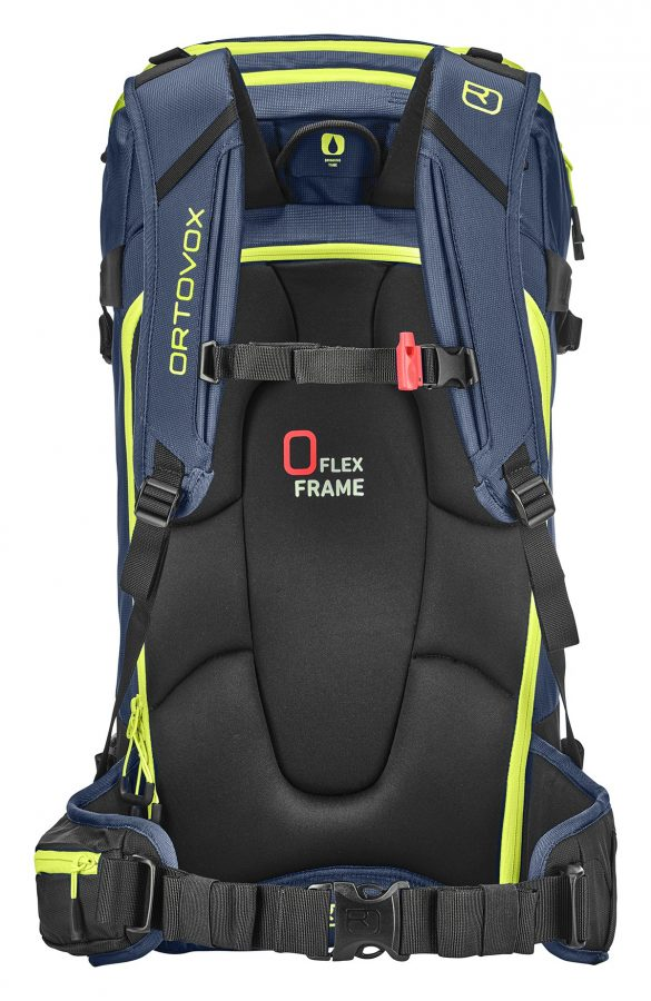 Ortovox Haute Route 40 - Back View - O-Flex Frame - Night Blue