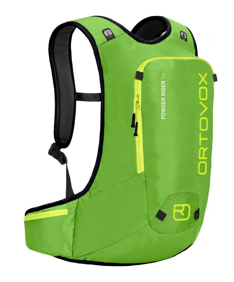 Ortovox Powder 16 - Front View - Matcha Green