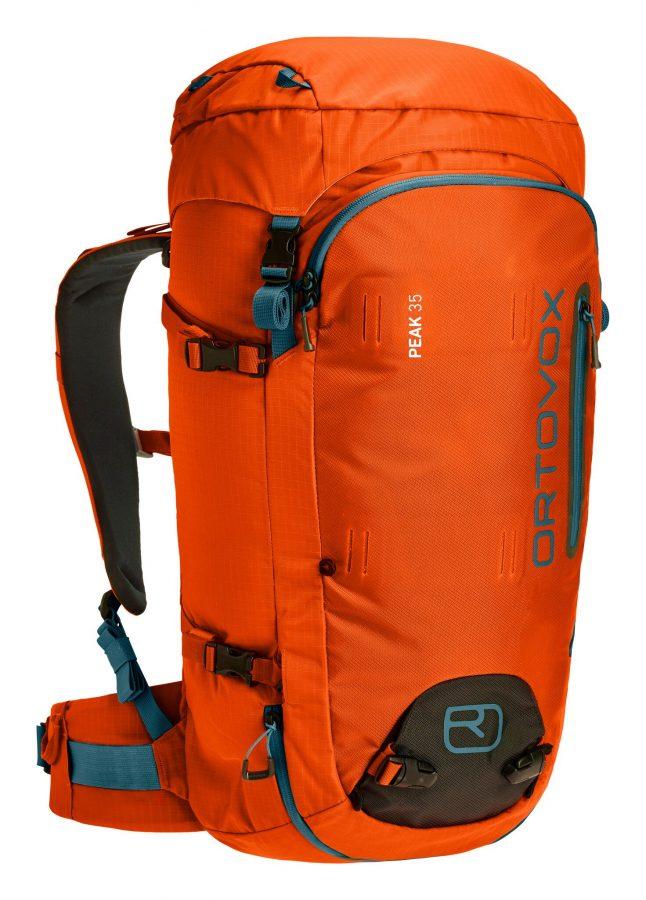Ortovox Peak 35 - Front View - Crazy Orange