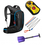 BCA DTS Tracker - Ortovox 240 Light Probe - Terrawest Core Shovel - Ortovox Crossrider 20 Package