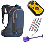 BCA DTS Tracker - Terrawest Core Shovel - Ortovox Carbon 240 Superlight Probe - Ortovox Freerider 26 Package