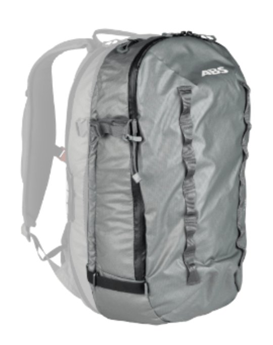 ABS P.Ride Compact 18 L Zip-on - Front View - Mountain Grey