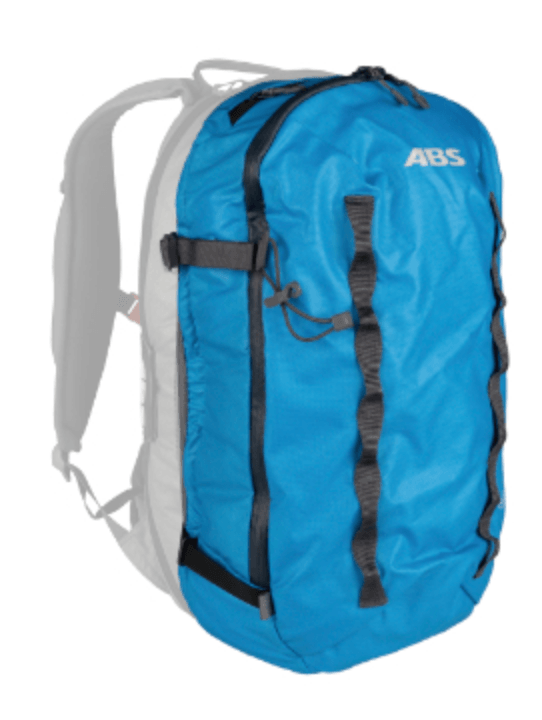 ABS P.Ride Compact 18 L Zip-on - Front View - Sky Blue