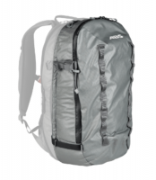 Front View - Mountain Grey - ABS P.Ride Compact 30L Zip-on