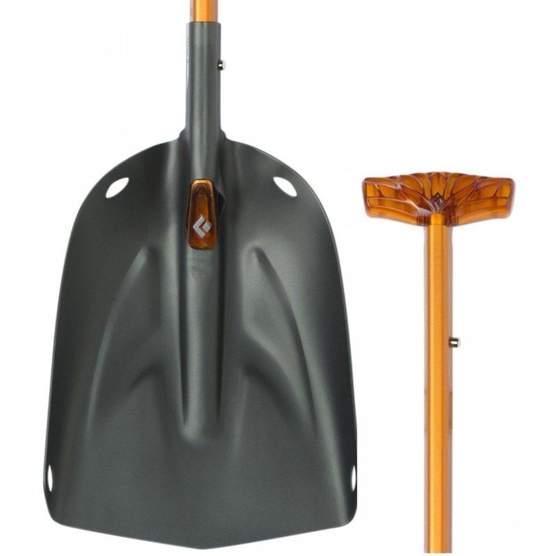 Black Diamond Deploy 7 Shovel - T Grip Handle